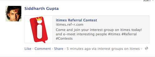 facebook referral feed invitereferrals
