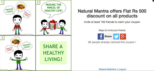 NaturalMantra Referral Giveaway