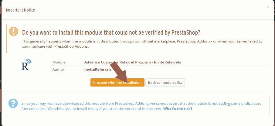 Proceed-installation-prestashop