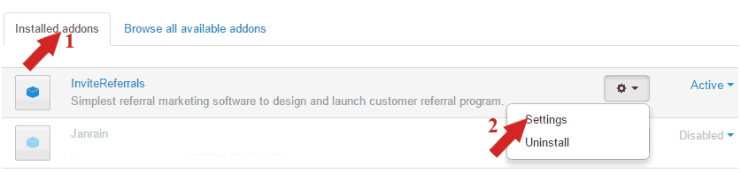 Referral-campaign-settings
