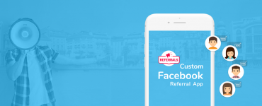 custom facebook referral app