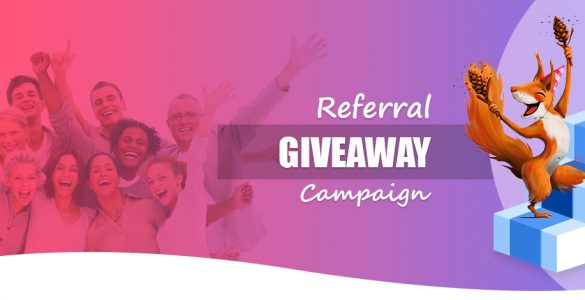 Referral-Giveaway-Campaign-setup