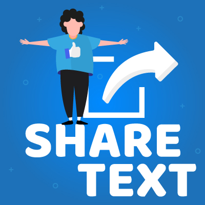 Share-Text