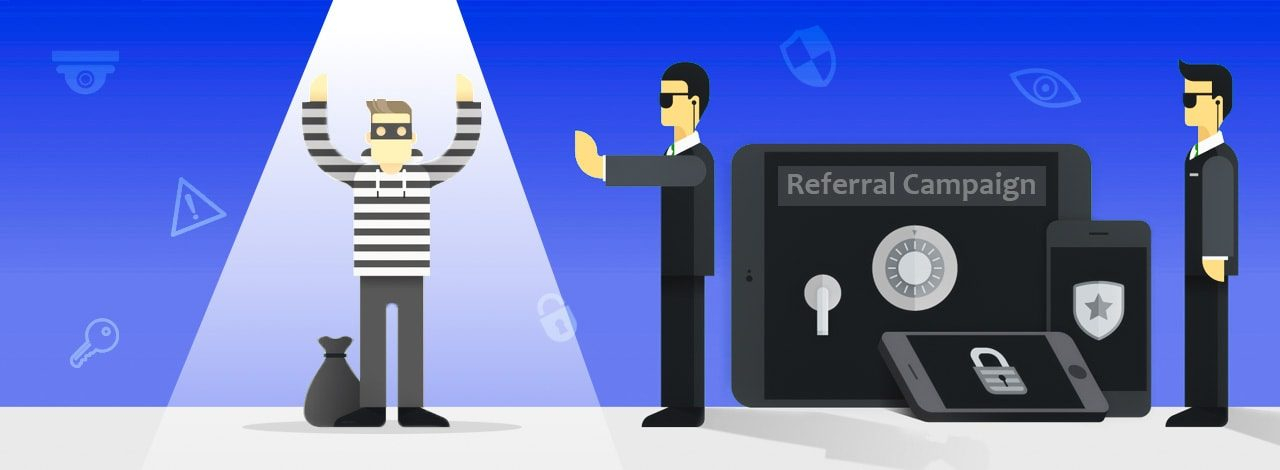 Referral fraud prevention