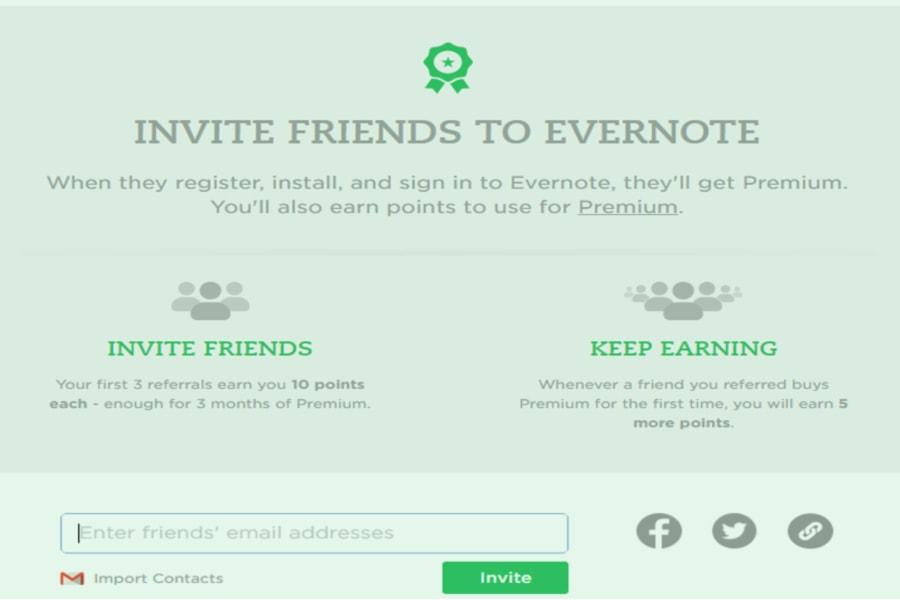 evernote referral