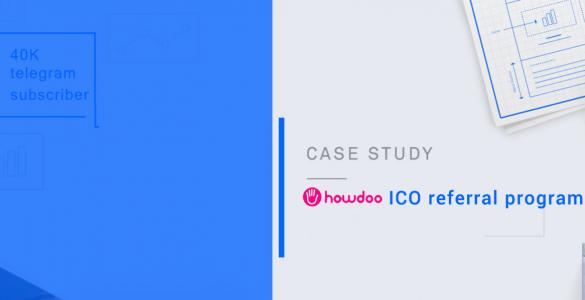 referral program case study howdoo