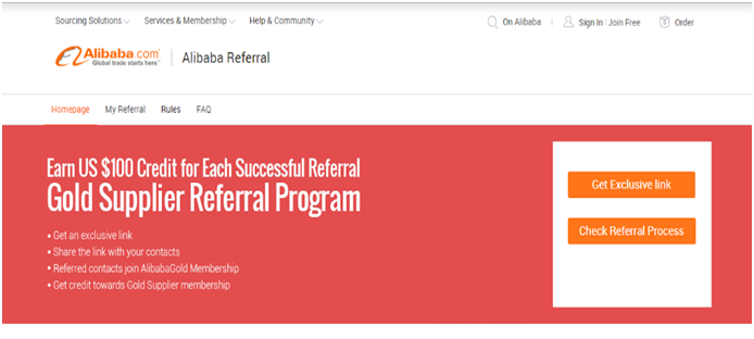 alibaba referral program