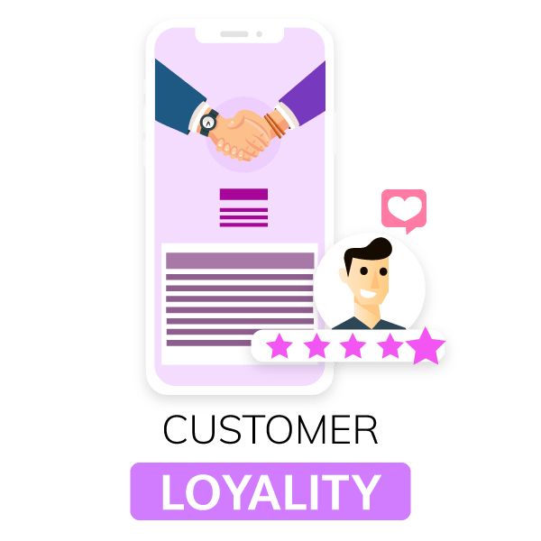 loyal customers are advocates