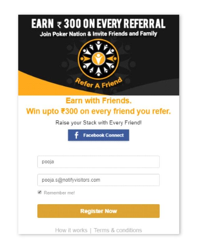 poker nation referral campaign
