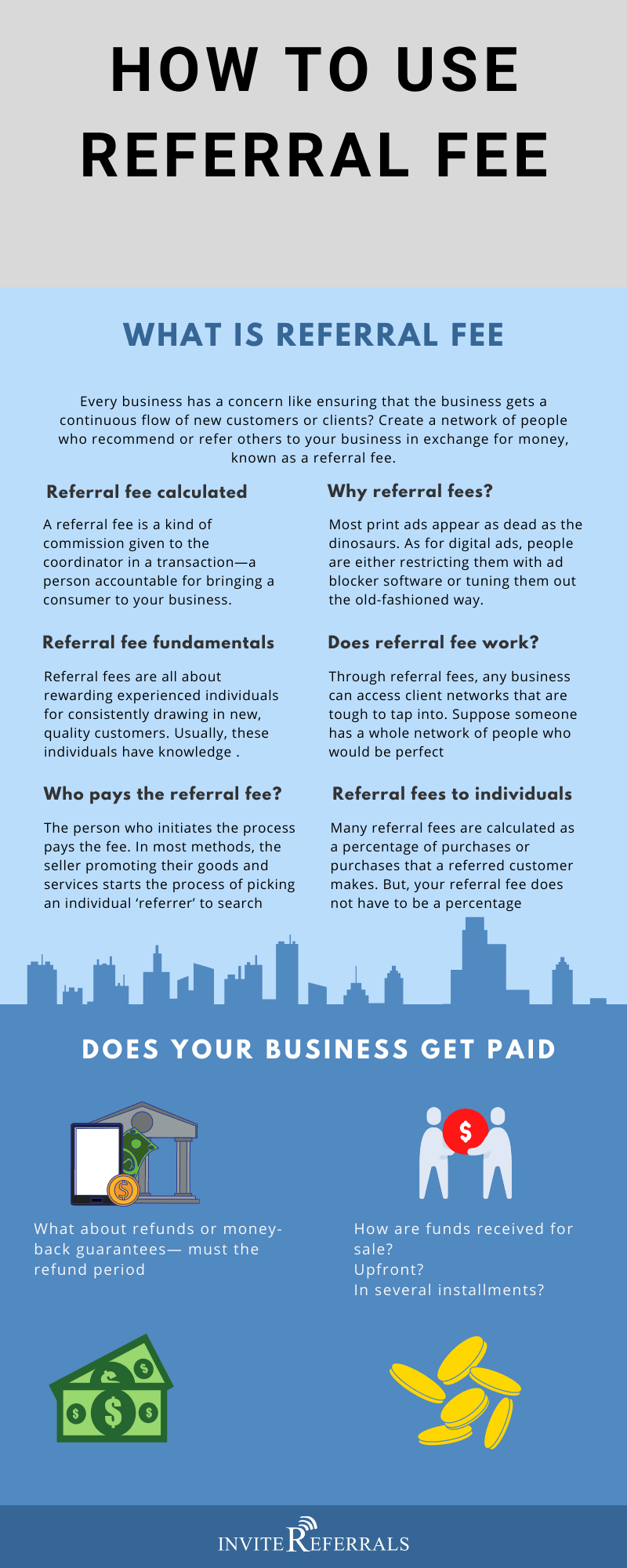 referral fee infographic