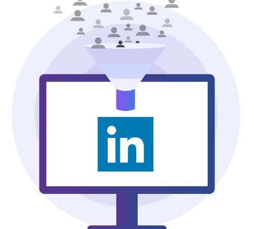 Leverage LinkedIn to target high-value prospects