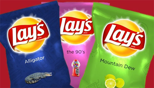 LAY'S RECRUITS FLAVOR SAVERS