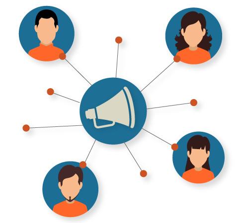 Develop a customer referral program.
