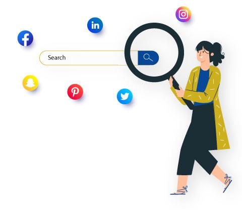 Social media searches