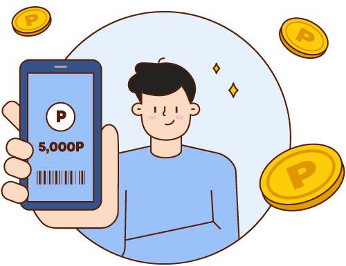 Use a points-based rewards system.